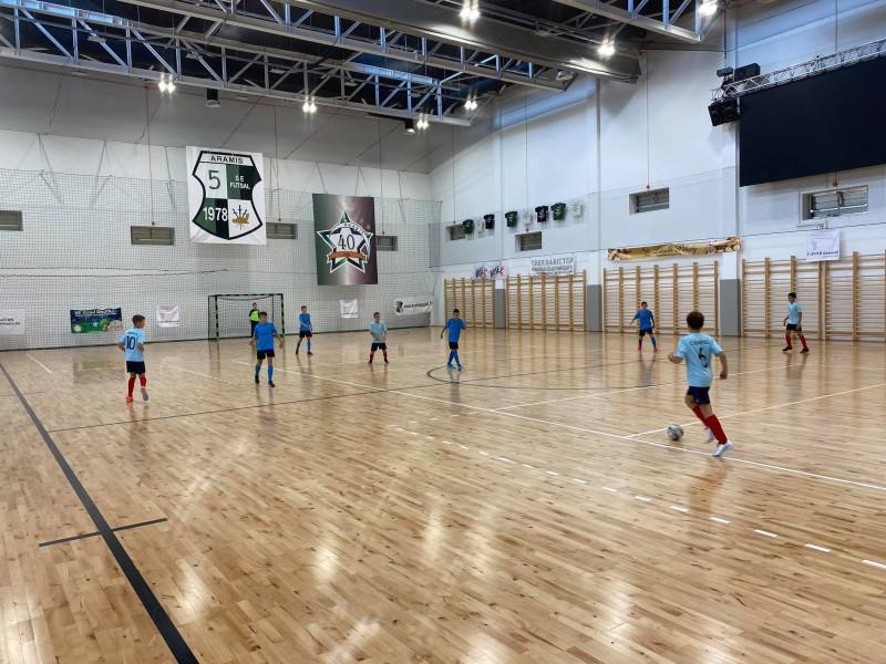 U11-eseink is elkezdték a futsal bajnokságot