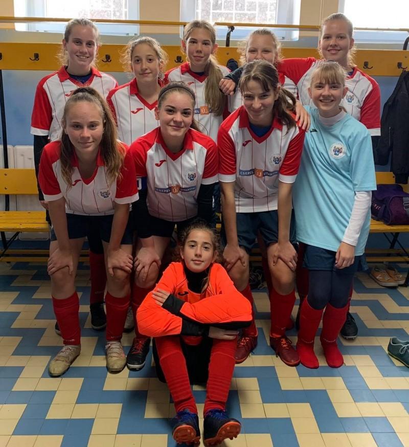 6-0-ra nyertek az U16-os lányok