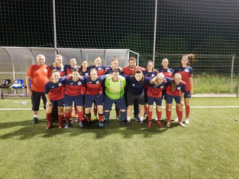Ajkán nyert a női NB II-es csapatunk