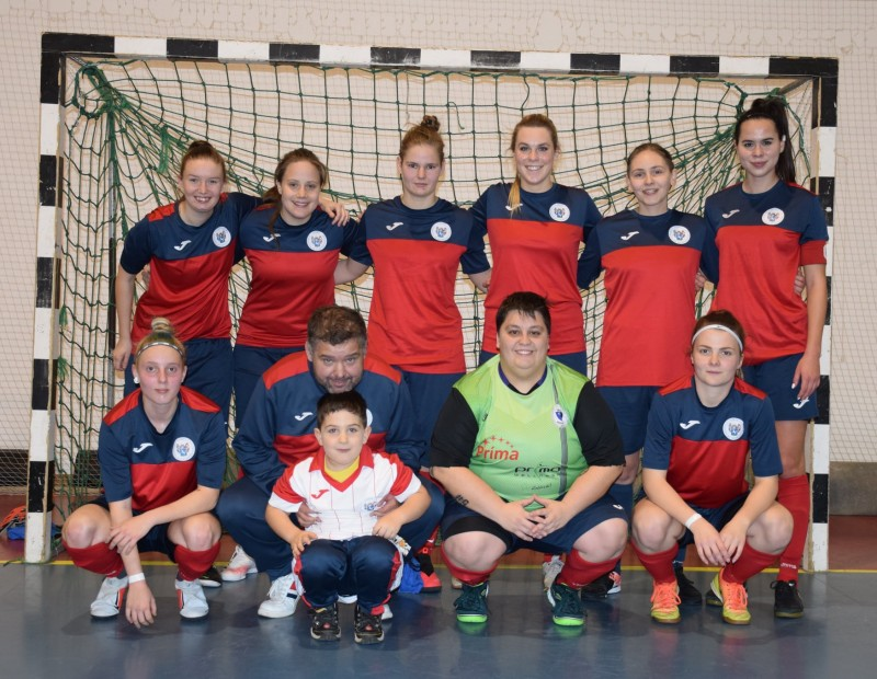 A legjobb nyolc közé jutott női csapatunk a futsal Magyar Kupában