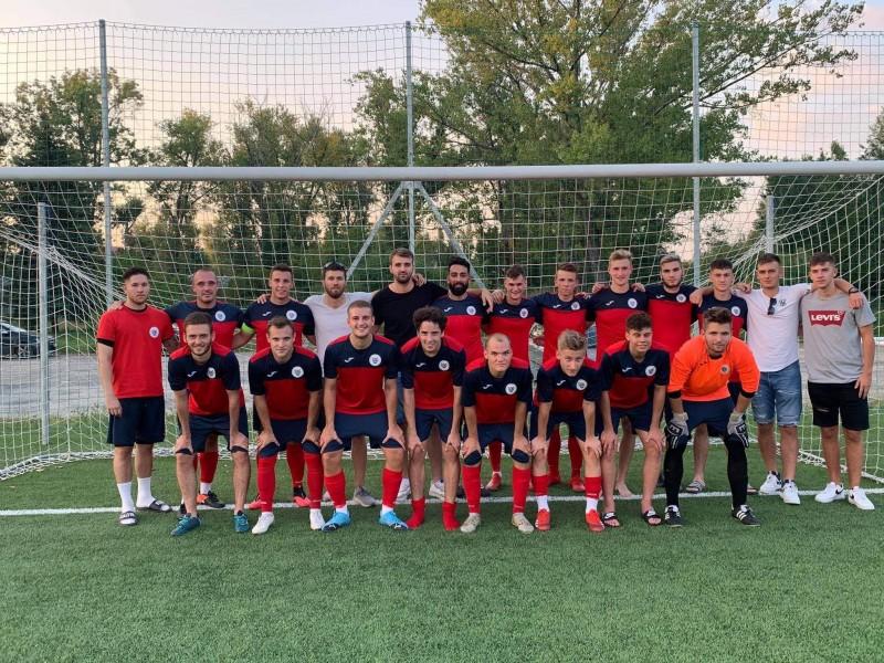 5-3-ra nyert felnőtt csapatunk a Budakeszi ellen