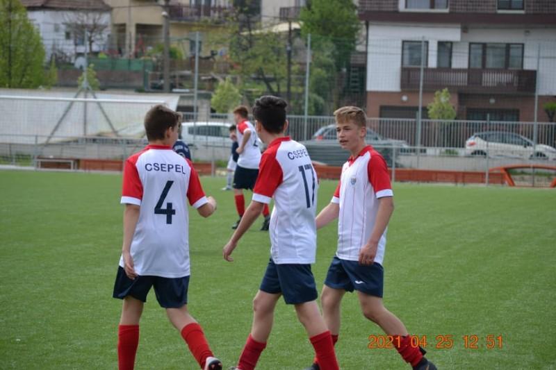 8-1-re nyertek U15-öseink