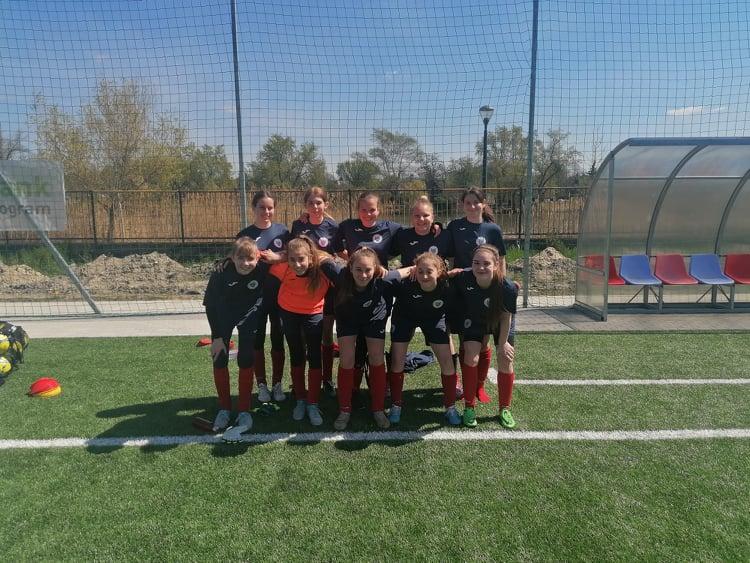 U16-os lányaink legyőzték a Csepel FC-t