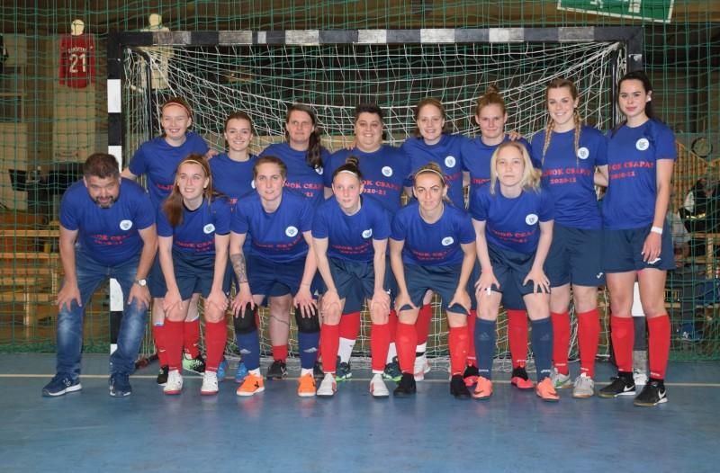 Megnyerte az NB II Nyugati csoportját női futsal csapatunk
