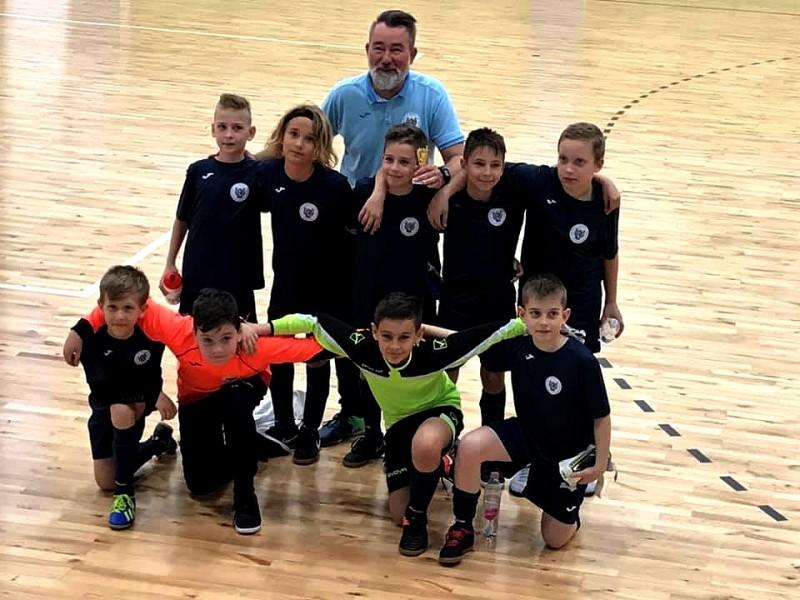 U11-es csapatunk Budaörsön futsalozott!