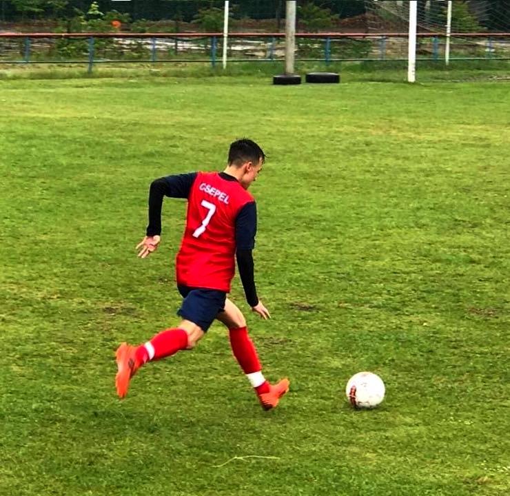 Utánpótlás játékosunk 16 évesen megszerezte első felnőtt bajnoki gólját!